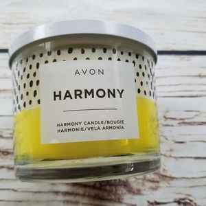 Avon Harmony Large Three Wick Essential Oil Candle